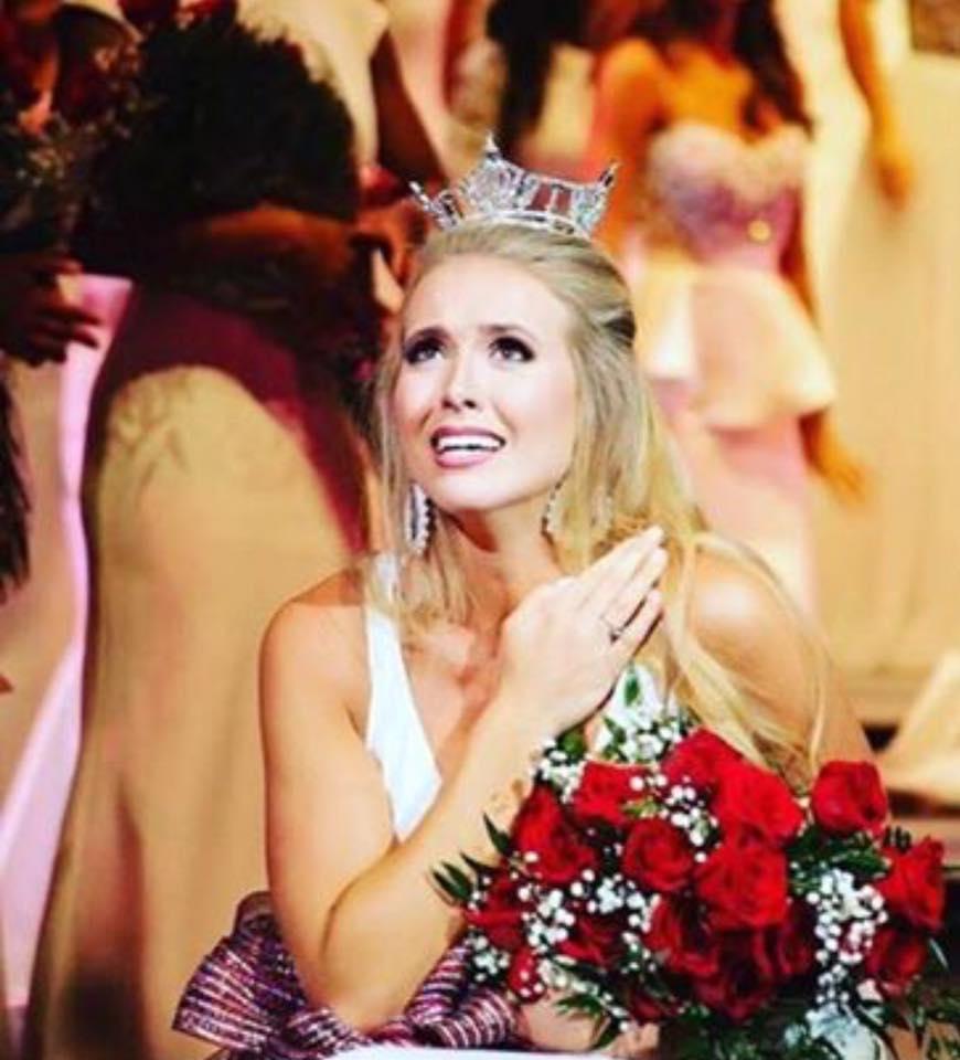 newly crowned Miss Alabama 2017, Jessica Procter, Miss Leeds Area Leeds Alabama